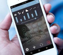עיצוב אפליקציה ליצירת מוזיקה וקליפים